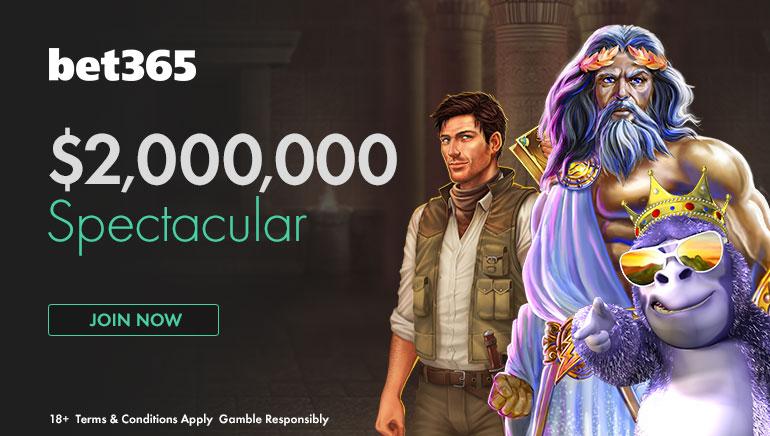 Participe à l'Offre Spectaculaire $2 Millions Chez bet365