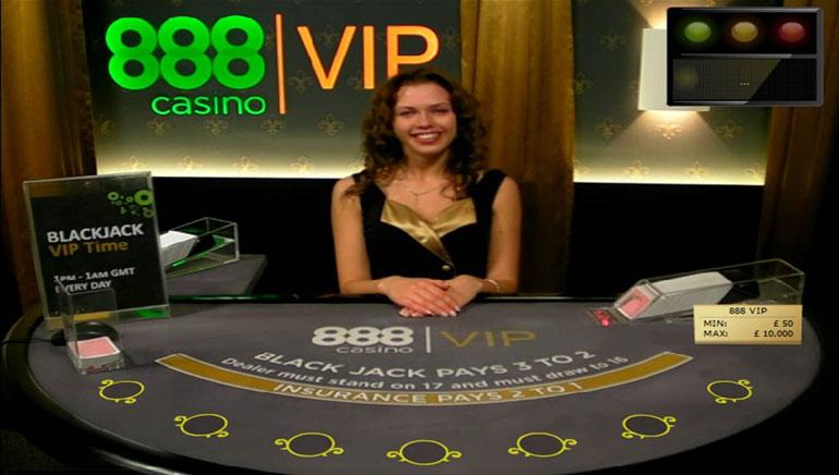 Introduisant les Dealers en Direct Élégeants de 888 Casino
