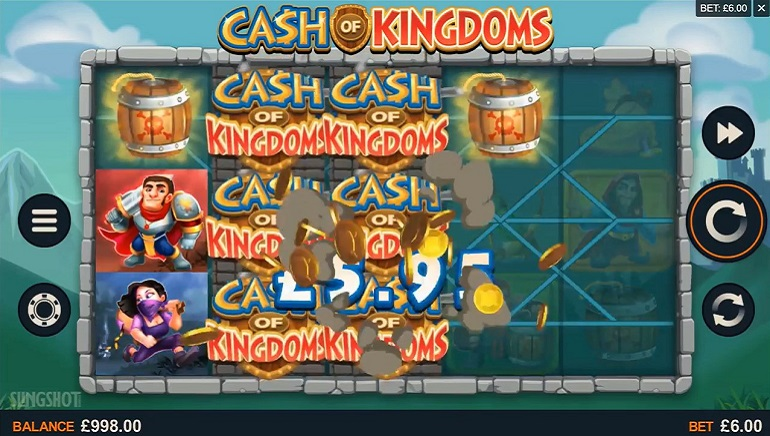 La Dernière Sortie de Microgaming Cash of Kingdoms Est Active